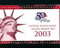 United  State Mint Silver Set